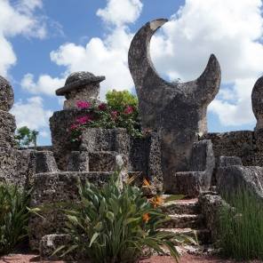 Coral Castle is a stone structure created by the Latvian American eccentric Edward Leedskalnin (1887–1951) north of the city of Homestead, Florida in Miami-Dade County