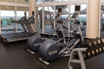 Fitness Center at the DoubleTree Ocean Point Resort