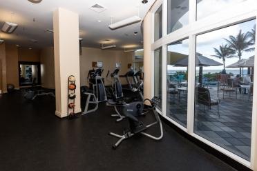 Fitness Center - DoubleTree Ocean Point Resort