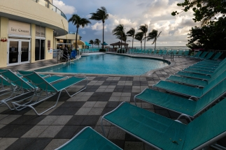 Pool at the DoubleTree Ocean Point Resort
