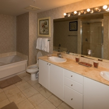Master Bathroom - One Bedroom Unit, 10th Floor
