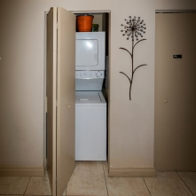 Washer & Dryer - One Bedroom Unit, 10th Floor