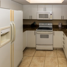 Kitchen - Two Bedroom Unit, 16th Floor