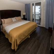 Master Bedroom - Two Bedroom Unit, 16th Floor