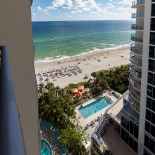 Balcony View - Two Bedroom Unit, 16th Floor
