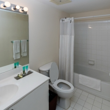 Second Bathroom - Two Bedroom Unit, 16th Floor