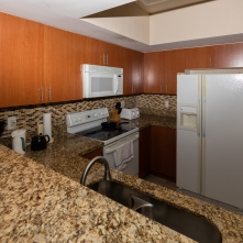 Kitchen - Two Bedroom Unit, 22nd Floor