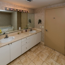 Master Bathroom - Two Bedroom Unit, 22nd Floor