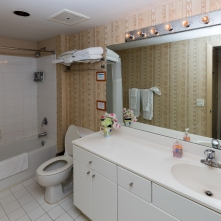 Studio Bathroom - Two Bedroom Unit, 22nd Floor