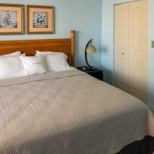 Master Bedroom- Two Bedroom Unit, 22nd Floor