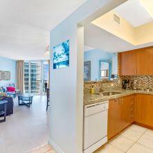 Kitchen - Two Bedroom Unit, 22nd Floor