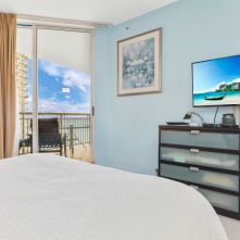 Second Bedroom/Studio Unit, 22nd Floor - Two Bedroom Unit, 22nd Floor