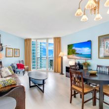 Living Room - Two Bedroom Unit, 22nd Floor